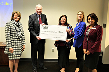 Rowan-Cabarrus Community College Receives Donation from Food Lion Feeds Charitable Foundation