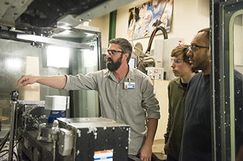 Gene Haas Foundation Grant Provides Support for Rowan-Cabarrus Students