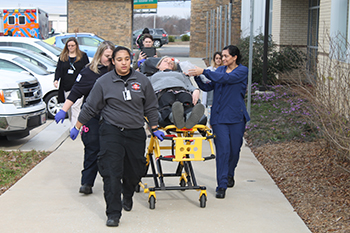 Rowan-Cabarrus Community College Health Programs Participate in First Time Simulation Event