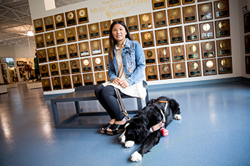 Rowan-Cabarrus Community College's Hope Bovard is N.C. Work-Based Learning Student of the Year